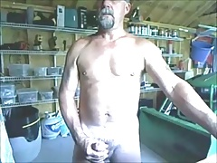 Very handsome mature guy