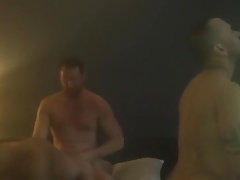 weirdly hot Gay bareback party