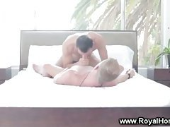 Clean and soothing cock massage
