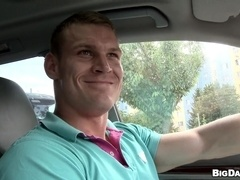 Outdoor rear banging scene with horny poofter Drago Lembeck