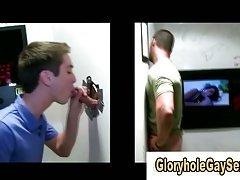 Dum gay man tricked at gloryhole
