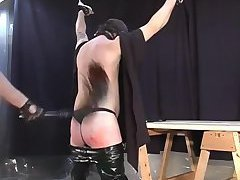 Dude ass spanked