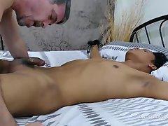 Daddy Fucks Asian Boy Mikal