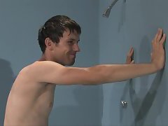 Gay Guy Get's Spanked in the Shower