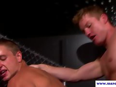 Ass banging jocks fuck in the nightclub