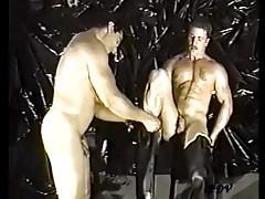 Vintage muscle worship