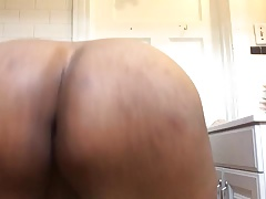 Black Chub Shakes Ass