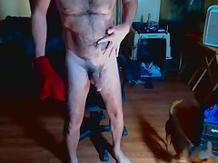 Horny hairy verbal daddy