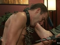 Cameron Kincade gets his mouth and ass fucked deep by Christian Wilde