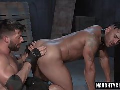 Latin jock domination and cumshot