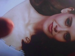 Alison Brie  Cumshot on her twice