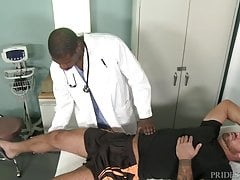 Muscle Daddy Refers U 2 His Doctor, Dr. Big Black Dick!