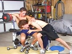 Aroused Teen Trio Banging Hard