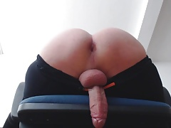 Young Twink Assplay and Handfree Cum