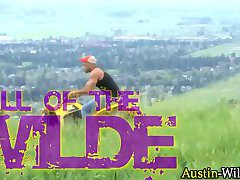 Austin wilde in quad bike