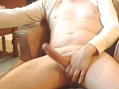 hung dad loves to cum