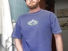 Jerking Off in the Bathroom
