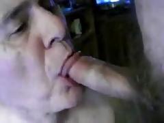Grandpa sucking a other men