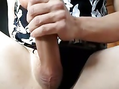 hot sissy cum