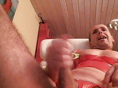 olibrius71 anal play, body clamps, rosebud, prolaps