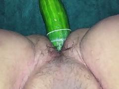 big cucumber deep in my ass II