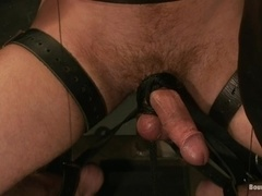 Christian Wilde destroys Travis Irons's ass in a hot BDSM video