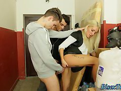 Bisexual dude stroked