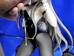 figure bukkake sof(Nyaruko Bunny)part4