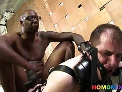 Slut Bottom Chris Takes A Black In The Ass