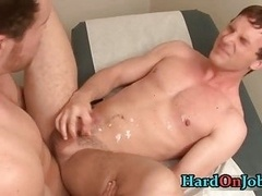 Cameron gets his tight man-loving ass stuffed with fuck tool 5