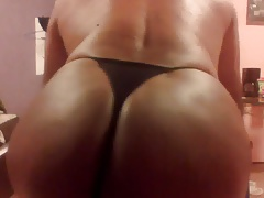 My thong black
