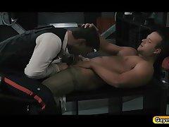 The force is gay blowjob and fucks anal bareback