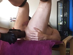Hole stuffed and fisted by GF