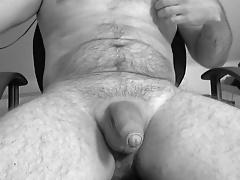 Hands free orgasm with cumshot