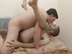 Two Couple Gay Sucks Cock and Gets Barebacked