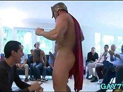 Helping of stripper big cock
