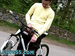Male boys public gay first time Outdoor Anal Sex On The Bike Trails