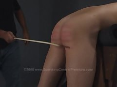 Spanked with the cane again