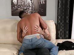 Hairy Uncut Big Dick White Boy Keeps Latino Secret
