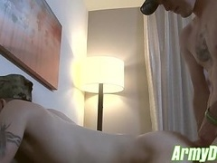 Naughty Ricky Stance and Scott Millie anal barebacking hard