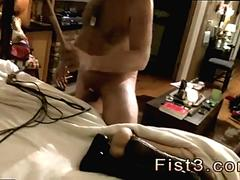 Boy fisted for the first time gay Piggie Tim Gets Flogged