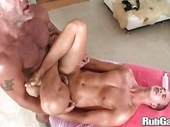 Rubgay Dripping wet Anal Rubbing.p4