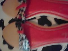 cum leopard wooden arabic sandals