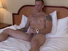 Hung Str8 Army Jock Jerks Nice Cut Cock for You