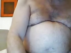 hot daddy cum at end