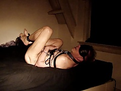slave doggy whipping dick