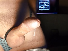 cum hungry milking