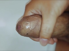 Small dick slow cum