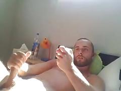 Hairy Daddy cumshot webcam