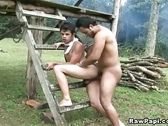 Sizzling Hot Latino Gay Bareback Fucking